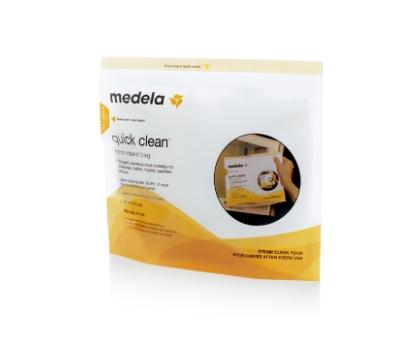 Medela Sacos Esterilização Microondas - Quick Clean