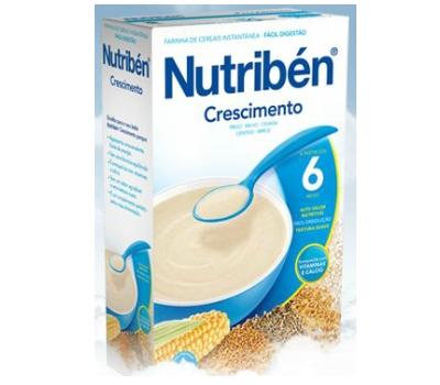 Nutribén Crescimento Não Láctea 300 gramas