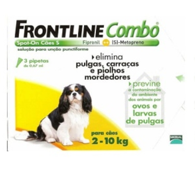 Frontline Combo® Cães 2 a 10 Kg