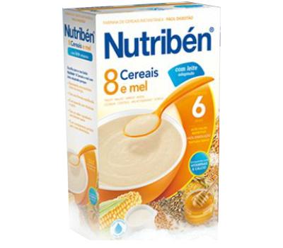Nutribén 8 Cereais e Mel L.A. 600g
