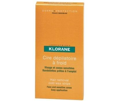 Klorane Cera Depilatória a Frio - Rosto e Zonas Sensíveis