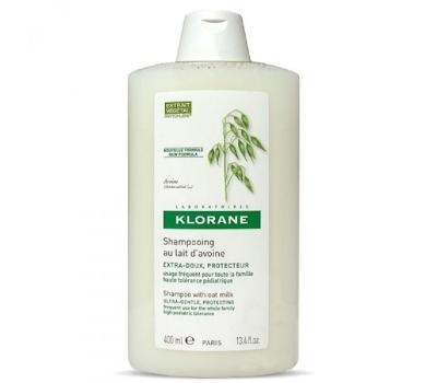 Klorane Champô Extra Suave - Leite de Aveia - 400 ml