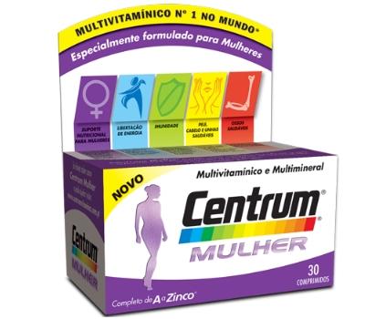 Centrum Mulher - 30 Comprimidos