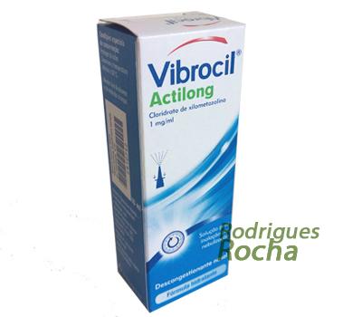 Vibrocil Actilong Solução para inalação por Nebulização