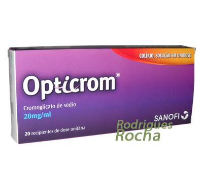 Opticrom Colírio, Solução em Unidose