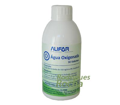 Água Oxigenada 9% 30 Volumes 250 ml Alifar