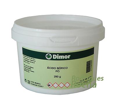 Ácido Bórico Pó 250g Dimor