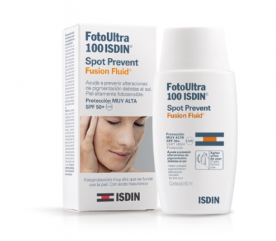 FotoUltra 100 ISDIN Spot Prevent Fusion Fluid SPF 50+ 50 ml