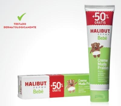 Halibut Derma Creme PROMO +50% grátis