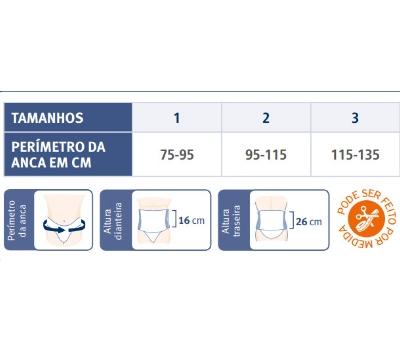 Orliman Cinta de Protecção Laboral/Alta Contenção 16-26cm Orliman