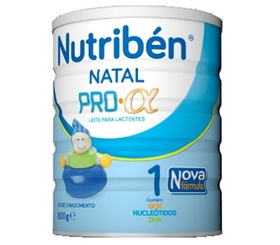 Nutribén Natal Pro-alfa 1 - 800 gramas