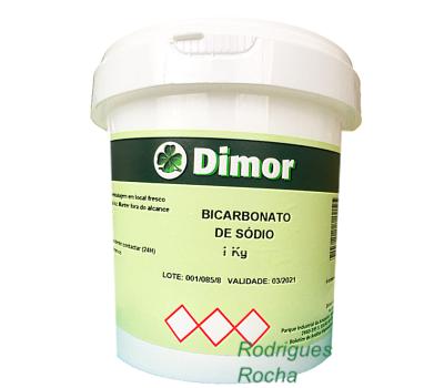 Bicarbonato de Sódio 1 Kg Dimor
